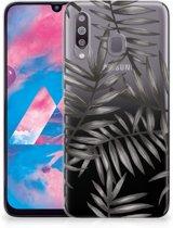 Samsung Galaxy M30 TPU Case Leaves Grey