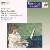 Beethoven: Piano Sonatas No. 8 & No. 29, Fantasy Op,77