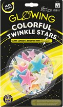 Colorful Twinkle stars - Kinderkamer Decoratie