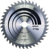 Bosch - Cirkelzaagblad Optiline Wood 250 x 30 x 3,2 mm, 40
