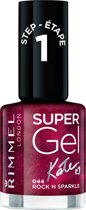 Rimmel London SuperGel by Kate - 44 Rock N Sparkle - Nagellak