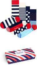 Happy Socks Stripe Giftbox - Maat 41-46