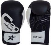 Bokshandschoenen voor trainingen Starpro C20   zwart 8 oz