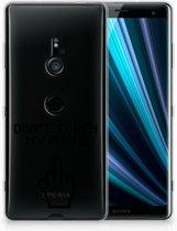 Sony Xperia XZ3 Uniek TPU Hoesje Finger DTMP