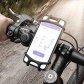Floveme telefoonhouder voor op de fiets - Iphone / samsung / HTC / LG / Huawei / Sony - Schokbestendige, universele telefoonhouder fiets - Fiets Telefoonhouder 2019