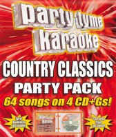 Party Tyme Karaoke Country Classics Party Pack