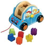 Santoys auto met geometrische vormen