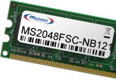Memory Solution MS2048FSC-NB121 2GB geheugenmodule