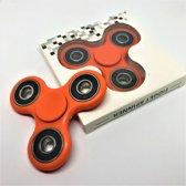 Fidget Hand Spinner - Oranje