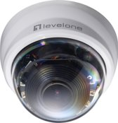 LevelOne FCS-4301 IP security camera Dome Zwart, Wit