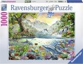 Ravensburger puzzel In het paradijs - Legpuzzel - 1000 stukjes