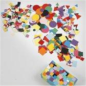 Karton mozaiek, afm 10+15+20 mm, diverse kleuren, 1doos
