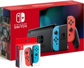 Nintendo Switch - 32 GB - Rood/Blauw + 2 controllers