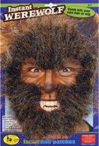 Weerwolf gezichtshaar