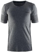 CRAFT cool comfort rn ss - Sportshirt - Heren - Black Mélange