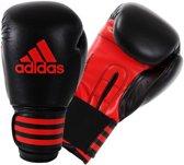 adidas Power 100 (Kick) Bokshandschoenen Bokshandschoenen - Unisex - zwart/rood 12 Oz/ 340, 188 gram - sparring