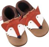 Pololo babyslofjes Fox castagno orange Maat: 24-25 (circa 14,5 cm)