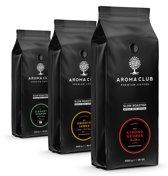 Aroma Club - Koffiebonen Proefpakket - 3 x 1KG