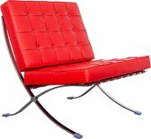 Barcelona Chair - Red