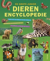 Boek cover De grote junior dierenencyclopedie van Hans Peter Thiel (Hardcover)
