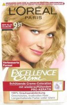 L'Oreal Paris Haarverf - Excellence Creme nr. 9.31 Zeer Licht Goud Blond