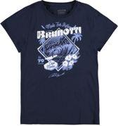 Brunotti Andante - Sportshirt - Heren - Maat S - Navy