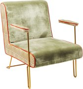 Kare Design - SALE - Aunt Betty Fauteuil - Groen Fluweel