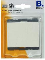 BERKER K1 blindplaat   WIT
