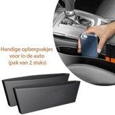 Handige opbergvakjes voor in de auto (pak van 2 stuks)