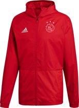adidas Ajax regenjacket thuis Heren 2018-2019 - rood - maat XXL