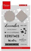 Marianne Design Stempel & Stencil Project Nederlands  December (Nederlands)