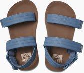 Reef Little Ahi Convertible Jongens Slippers - Tan/Navy - Maat 25/26