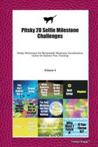 Pitsky 20 Selfie Milestone Challenges: Pitsky Milestones for Memorable Moments, Socialization, Indoor & Outdoor Fun, Training Volume 4