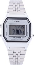 Casio Collection horloge LA680WEA-7EF- Staal - Zilverkleurig - Ø 30 mm