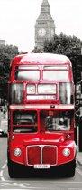 London Bus  - Fotobehang 91 x 211 cm
