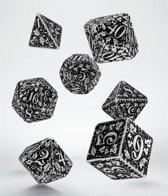 Polydice Set Q-Workshop Forest White Black