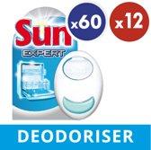 Sun Ontgeurder - 12 x 60 wasbeurten - Vaatwasmiddelen - Kwartaalbox