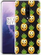 OnePlus 7 Pro Hoesje Happy Ananas