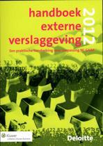 Handboek Externe Verslaggeving  / 2012