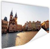 Oude Stadsplein Praag Poster 60x40 cm - Foto print op Poster (wanddecoratie)