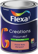 Flexa Creations Muurverf - Extra Mat - Flower Bulb - 1 liter