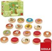 Goula Memo Tom en zijn bosvriendjes - Kinderspel