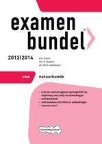 Omslag van 'Examenbundel - 2013/2014 VWO natuurkunde'