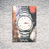 DS Canvas stedenprint LONDON - Klok - Rechthoekig - Canvas - 60x40 cm