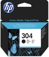 HP 304 - Inktcartridge / Zwart