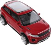 Welly Metalen Land Rover Evoque Rood 12 Cm