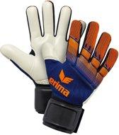 Erima Flexinator Knit Keepershandschoenen - Keepershandschoenen  - blauw donker - 12