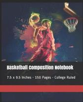 Basketball Composition Notebook