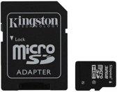 Kingston microSD kaart 32 GB Class 10 + SD Adapter geheugenkaart