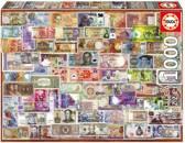 Educa Bankbiljetten van de wereld legpuzzel 1000 stukjes